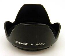 DC II 52mm Screw Mount Flower Petal Camera Lens Hood #4460