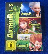Arthur und die Minimoys 1 2 3, 3 DVD Box