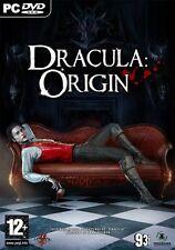 Dracula: Origin (PC DVD) BRAND NEW SEALED