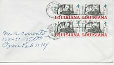 US Scott #1197, First Day Cover 4/30/62 New Orleans Block of 4 Louisiana