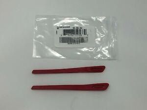 Oakley Turbine OO9263 (New Icon) Red Replacement Earsocks OO 9263 / OJ 9003