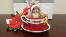Charming Tails - Oh Christmas Tea, Oh Christmas Tea - Fitz & Floyd - 87/167
