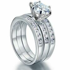 2.00 Ct Round Cut Solitaire Diamond Engagement Ring 14K White Gold Enhanced