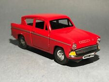 FORD ANGLIA 1:32 red model car toy diecast car