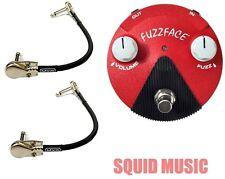 Jim Dunlop Jimi Hendrix Band of Gypsys Mini Fuzz Face FFM6 ( 2 MXR CABLES )