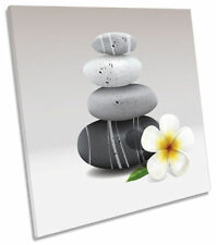 Canvas Floral Gray Art Prints