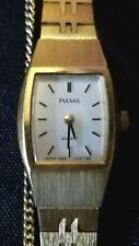 Vintage Pulsar Y 580-5530 Women's Watch New Battery Keeps Excellent Time