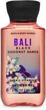 *NEW* BALI Black Coconut Sands Travel Shower Gel 3 oz Bath & Body Works