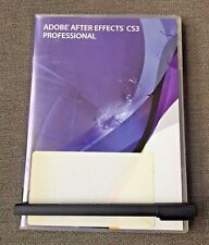 Adobe After Effects CS3 Professional Discs - For Macintosh - With serial number