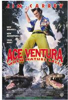 ACE VENTURA 2 II WHEN NATURE CALLS MOVIE POSTER Original DS 27x40 JIM CARREY