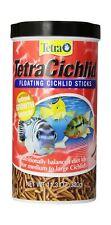 New listing TetraCichlid Floating Cichlid Sticks for Medium / Large Cichlids 11.30-Ounce