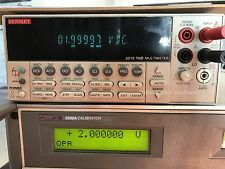 Keithley2015 THD Digital Multi Meter 6-1/2-Digit Harmonic Distortion