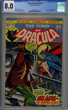 Tomb of Dracula #10  CGC 8.0 1st Appearance of Blade
