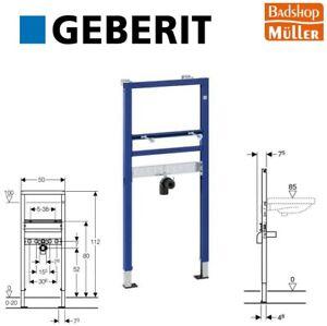 Geberit Duofix Basic Waschtisch Vorwandelement Waschtischmodul 112 cm 458404001