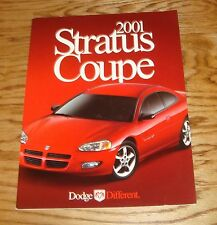 Original 2001 Dodge Stratus Coupe Deluxe Sales Brochure 01