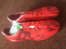 Men'S Adidas F10 Erba Artificiale Scarpe Da Calcio Misura Adulto 9 1/2 (UK) NUOVO CON SCATOLA