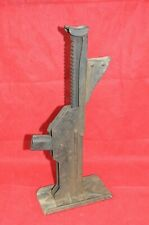 Vintage AJAX Axle Bumper Jack Old Racine Wis Slot Ratcheting Car Auto Truck 1906