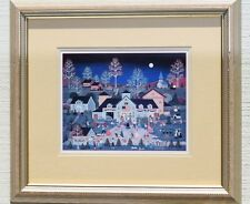 JANE WOOSTER SCOTT SWING YOUR PARTNER LIMITED EDITION LITHOGRAPH PRINT FOLK ART