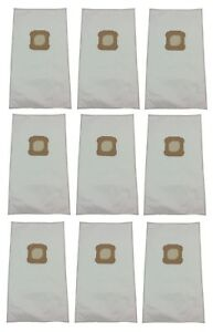 (9) Vacuum Bags for Kirby Ultimate G, Diamond Edition, HEPA Micron Cloth White