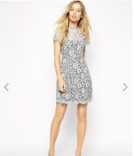 Supertrash ASOS Lace Dress Grey 10, 12 S-M, Very Flattering!