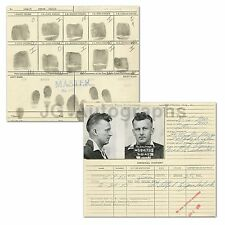 Police Booking Sheet - Attempt to Pass Bad Checks - Missouri State Pen - 1945