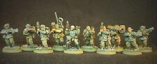 Astra Militarum, CADian shock convenga, veterans w/Shotguns, 40k, pro painted