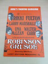 More details for rikki fulton una mclean walter carr glasgow pantomime program 1974