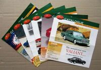6x TRAX 1/43 diecast model 2000 complete set mint catalogues FORD HOLDEN VALIANT