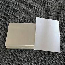 Blech Alu, ca. 30 x 20 cm, 1 mm, Ecken abgerundet. Alublech Platte Aluminium