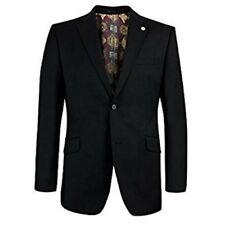 NEW * TED BAKER * ENDURANCE SOVEREIGN BLACK WOOL JACKET SIZE 44L RRP £240