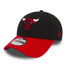 NEW ERA MENS 9FORTY BASEBALL CAP.NEW CHICAGO BULLS NBA BLACK MESH ADJUSTABLE HAT