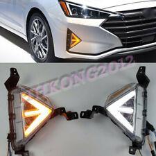 For Hyundai Elantra 2019-2020 LED Daytime Running Light Front Fog Light 2 Color