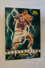 "NBA CARD - Skybox - ""Electrified"" - Billy Owens - Miami Heat"