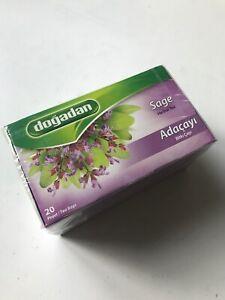 Sage Herbal Tea (1 box / 20 tea bags)  Adacayi Bitki Cayi- free ukUK post