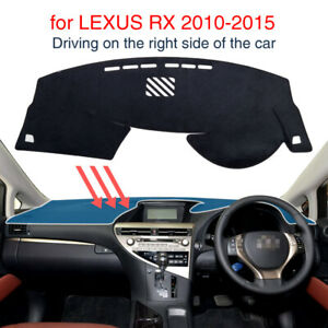 Dash Mat for LEXUS RX 350 450H 2010- 2015 Accessories Dashboard Pad Carpet Cover