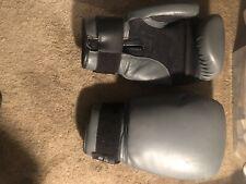 Tko Boxing Kickboxing Gloves 16oz Gray Technical Knockout