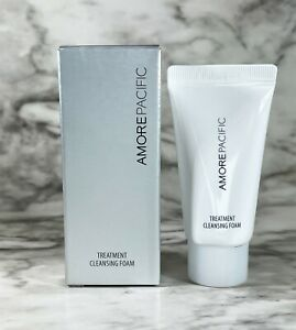 Amore Pacific Treatment Cleansing Foam Face Cleanser, 0.5oz, Travel Size, NEW