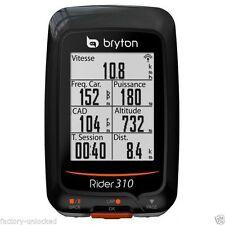 New Bryton Rider 310E GPS Bike Cycling Odometer Computer (No Cadence, No HRM)