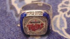 2018 Minnesota Twins 1991 Commemorative Coors Light World Series Ring