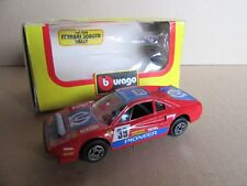 947G Burago 4148 Ferrari 308 GTB Rallye # 39 Pioneer 1:43