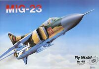 ORIGINAL PAPER-CARD MODEL KIT - MIG-23