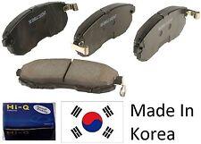 OEM Rear Ceramic Brake Pad Set With Shims For Hyundai Accent 2006-2008