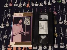 Secret Beyond the Door (VHS, 1990) Fritz Lang) COLLECTORS CLASSICS) NOT RATED)