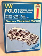 Haynes Owners Workshop Manual VW Polo, 1982 to October 1990 (3531)