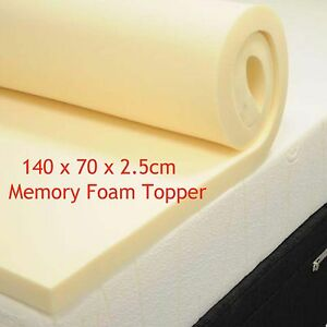 Baby Junior Memory Foam Mattress Topper Orthopaedic Cotbed 140x70