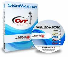 SignMaster Advanced Cutting Software Cut + ARMS Sky Cut Plotter C, V, D Series