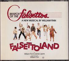 March of the Falsettos / Falsettoland - Original Cast   [Double CD]