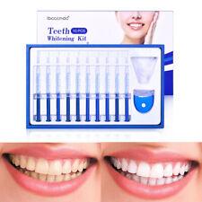 10X Teeth Whitening Tooth Whitener LED White Light Oral Gel Dental Bleaching Kit