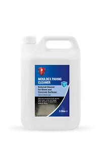 LTP Mouldex 5 Litre External Paving Cleaner Kills Mould Fungus Algae Black Spot