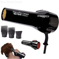 Red By Kiss Professional Handle Less Ceramic Tourmaline Hair Blow Dryer Salon